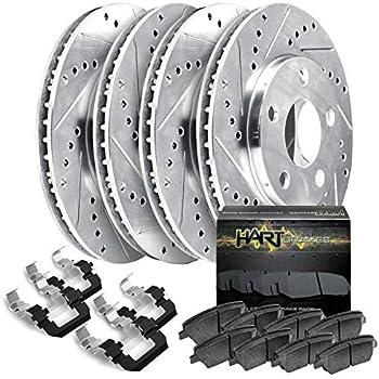 For 2016-2018 Mazda CX-5 Full Kit PBR AXXIS Drill//Slot Brake Rotors+Ceramic Pads