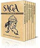 Saga Six Pack 6 - A Thane of Wessex,  Harald Harfager's Saga,  Eric Brighteyes, The Valkyrs, Saga of Hakon Herdebreid and The Elves (Illustrated)