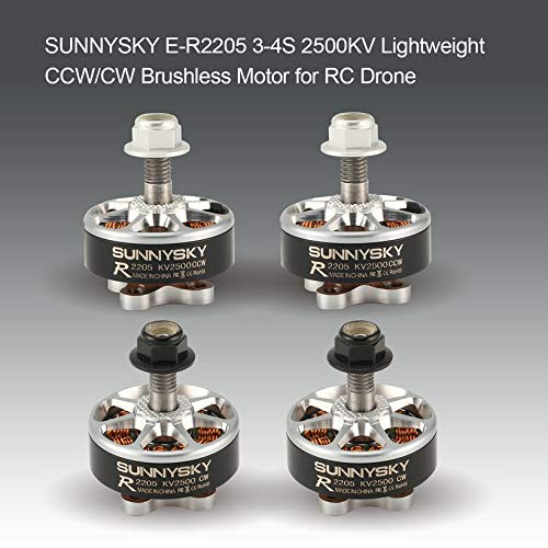 Wikiwand SUNNYSKY E-R2205 3-4S Lightweight CW/CCW 2500KV Brushless Motor for RC Drone by Wikiwand (Image #2)