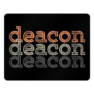 Idakoos Deacon repeat retro - Male Names - Plastic Acrylic