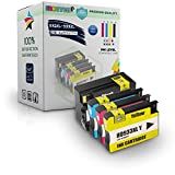 E-Z Ink (TM) Remanufactured Ink Cartridge Replacement For HP 932XL 933XL (1 Black, 1 Cyan, 1 Magenta, 1 Yellow) 4 Pack CN053AN CN054AN CN055AN CN056AN Compatible With Officejet 6100 Officejet 7100 Officejet 6600 Officejet 6700 Officejet 7610 Wide Format Printer