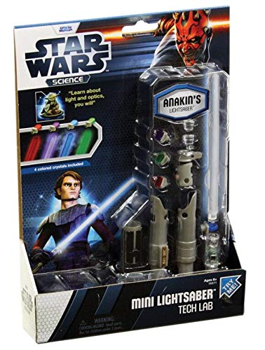 Uncle Milton Star Wars Mini Lightsaber Tech Lab]()