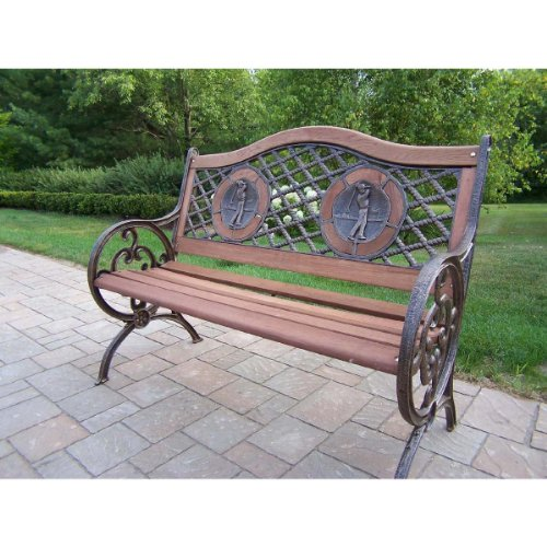 Oakland Living Double Golfer Bench For Sale
