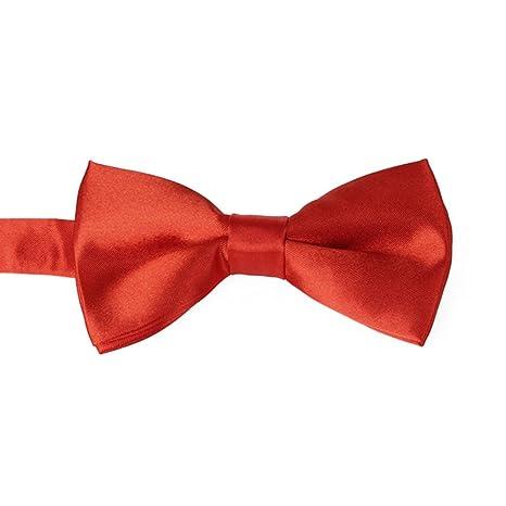 Corbata Pajarita Bowtie Pre Tie Color Negro Rojo Violeta Champagne ...
