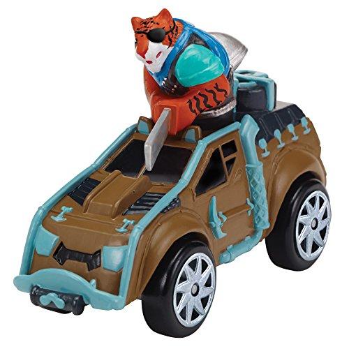Teenage Mutant Ninja Turtles T-Machines Tiger Claw in Safari Truck Diecast (Safari Vehicle)