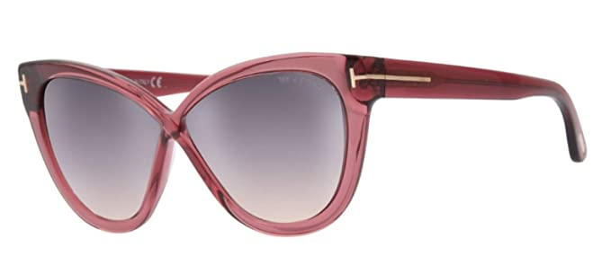 923602ba73 Sunglasses Tom Ford FT 0511 Arabella 69B shiny bordeaux gradient ...