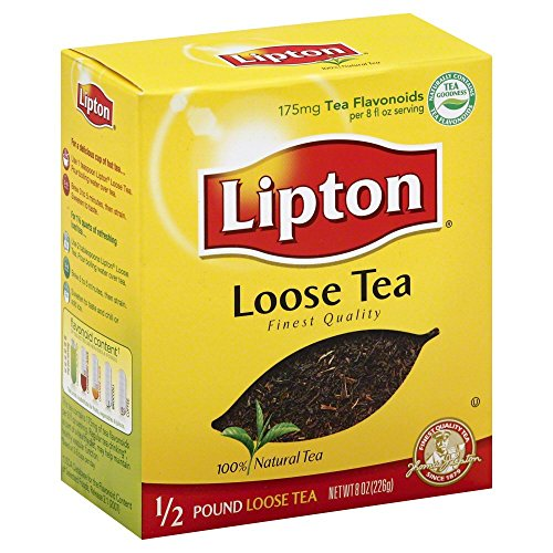 Lipton Loose Black Tea, 8 Ounce (Pack of 6)