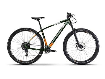 """HAIBIKE bicicleta Greed HardNine 8.0 Carbon 29 """"22-velocità Talla 45 verde"""