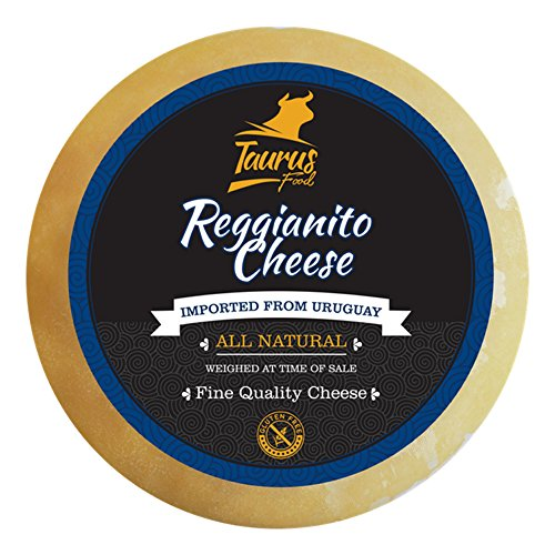Reggianito Cheese ( 15.00 Pounds Approximately ) 18 Month Aged ( Uruguayan Natural Whole Wheel ) by Taurus Food