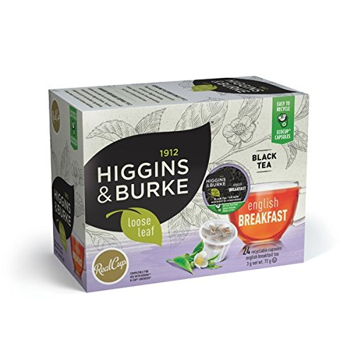 Higgins & Burke® Loose Leaf English Breakfast Tea 24 Count
