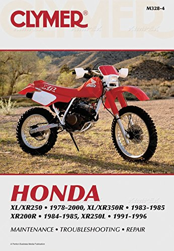amazon com 79 00 honda xr250r clymer service manual honda rh amazon com honda xr 250 manual honda xr 250 manual pdf