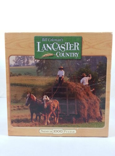 Bill Coleman's Lancaster Country 1000 Piece Puzzle  While The Sun Shines