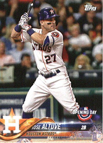 2018 Topps Opening Day #50 Jose Altuve Houston Astros Baseball Card