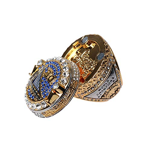 Haidao Blockchain Tech Warriors Replica Championship Ring 2018 MVP Curry Durant GS18 Size 9-12