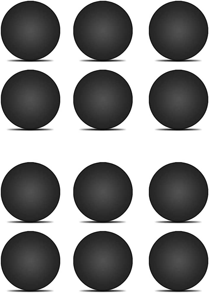 12 Pack Rubber Silicone Feet Dot(Diameter:0.575inch) with Adhesive,Compatible with DELL,Asus,Lenovo,HP Laptop,Computer Case,Keyboard Riser,Appliance Feet,Multipe Purpose