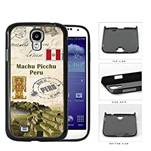 Machu Picchu Postcard Peru Hard Plastic Snap On Cell Phone Case Samsung Galaxy S4 SIV I9500