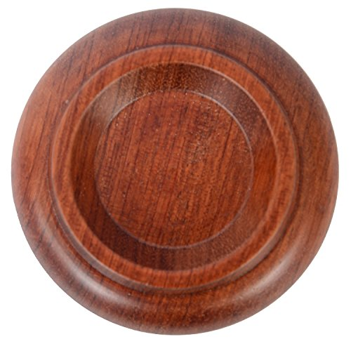 WOGOD (PA-14)Solid wood Upright Piano Caster Cups .(1 Set of 4 Rosewood)