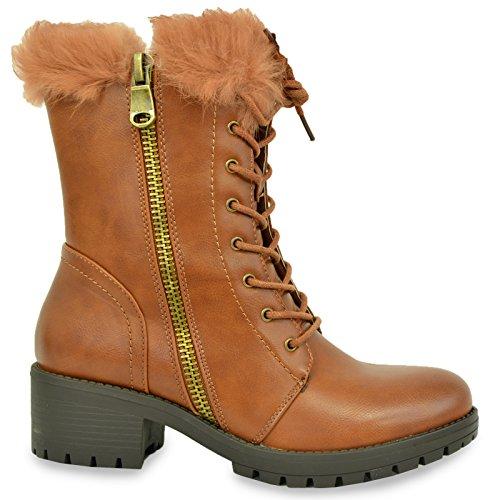 Cucu Fashion - botas estilo motero mujer marrón claro
