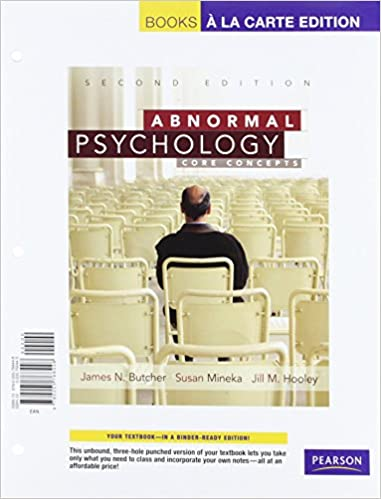 Amazon abnormal psychology core concepts books a la carte abnormal psychology core concepts books a la carte edition 2nd edition 2nd edition fandeluxe Image collections