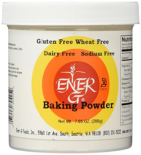 Ener-G Baking Powder - 7.05 oz (Baking Powder Or Baking Soda For Cake)