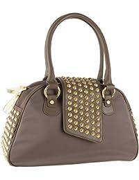 Gwen Bowler Handbag - Taupe. Christian Audigier 2057ec998c650