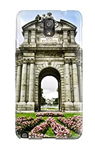 Galaxy High Quality Tpu Case/ Puerta De Alcal?? KIqqcnZ15091qhlFn Case Cover For Galaxy Note 3