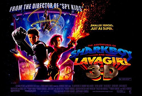 The Adventures of Shark Boy & Lava Girl in 3-D Movie Poster