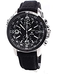 Seiko SSC293P2 Prospex Mens Solar Military Alarm Chronograph 100m Water Resistant,SSC293P2