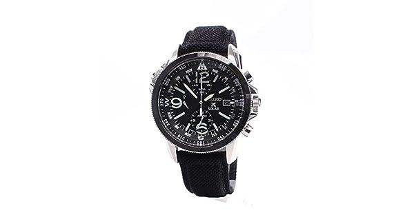 Amazon.com: Seiko SSC293P2 Prospex reloj solar cronó ...