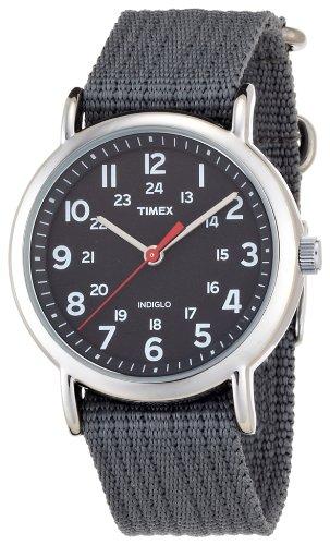 Timex Weekender Watch – Mens – grey, adjustable, Watch Central