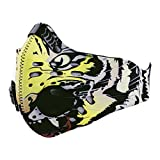 Panegy Anti Dust Wind Cycling Bicycle Bike Motorcycle Animal Printed Camping Half Face Mask