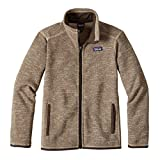 Patagonia Boys' Better Sweater Jacket (XL, Pale Khaki)