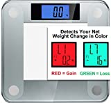 Ozeri Precision Pro II Digital Bath Scale (440 lbs / 200 kg Capacity) with Weight Change Detection Technology