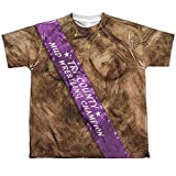 Mud Wrestling Champ Youth Or Boy's Front Only Sublimated T Shirt