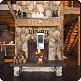 Rikki Knight RK-LSPS-8917 Rustic Fireplace Design Light Switch Plate Cover