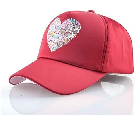 XZZZB Gorra de béisbol Femenino Color Hueso de Gorras Hip Hop Cap ...