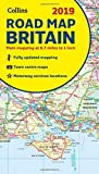 2019 Collins Road Map Britain