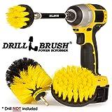 Drill Brush - Cleaning Supplies - Bathroom Accessories - Shower Curtain - Bath Mat - Bathroom Cleaner - Grout Cleaner - Scrub Brush - Bathtub - Sink - Toilet - Bidet - Flooring - Spin Brush