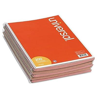 "Universal Wirebound Message Books, 3-3/16"" x 5 1/2, Two-Part Carbonless, 200-Set Book (48005)"