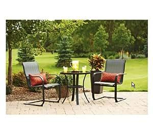 pyros 3 piece outdoor bistro set seats 2