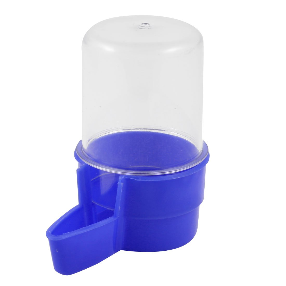 uxcell Pet Water Fountain Feeding Waterer, Blue/Clear by uxcell