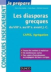 Les diasporas grecques : du VIIIe s. au IIIe s. avant J.-C. - Capes, Agrégation (Concours enseignement)