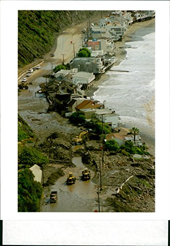 (Vintage photo of Calif Storm.)