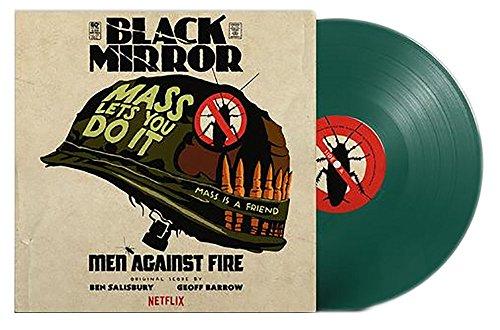 GEOFF BARROW & BEN SALISBURY - BLACK MIRROR: Men Against Fire Original Score Exclusive Army Green Vinyl