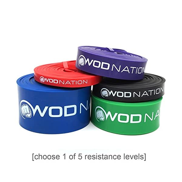 Pull Up Assist Band By WOD Nation, Perfect For Assisted