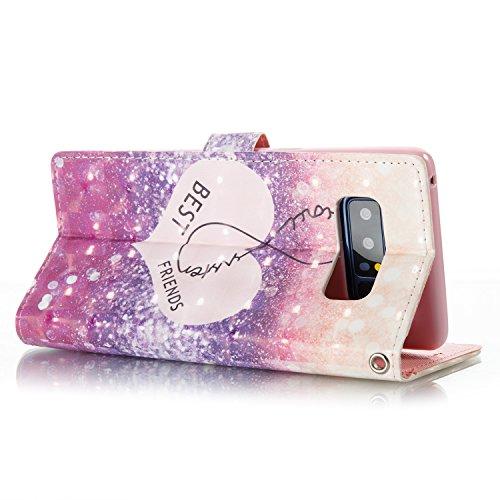 10 Portafoglio Magnetica Custodia Protettiva In Jeper Flip Pu Pelle Stand Case Cover Per Chiusa Con 8 Samsung Note Galaxy Bookstyle xqZHSH
