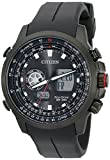 Citizen Men's JZ1065-13E Promaster Analog-Digital Watch With Black Silicone Band