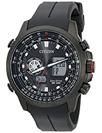 Citizen Men's JZ1065-13E Promaster Analog-Digital Display Japanese Quartz Black Watch
