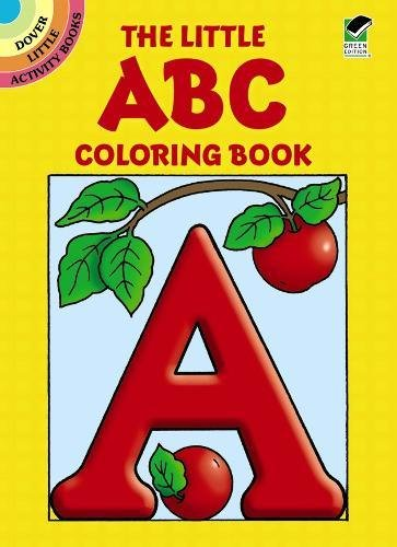 [The Little ABC Coloring Book (Dover Little Activity Books)] (Animals That Begin With E)