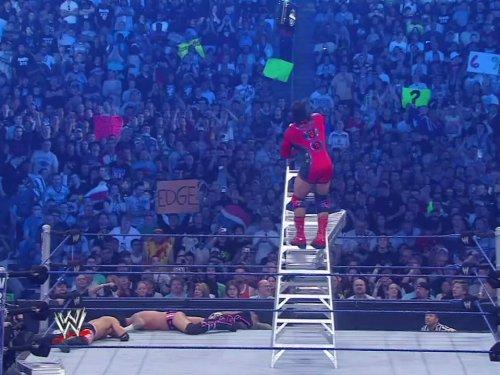 Big Match - WrestleMania 25 April 5, 2009 Money In The Bank Ladder Match CM Punk Vs. Kofi Kingston Vs. MVP Vs. Finlay Vs. Christian Vs. Kane Vs. Shelton Benjamin Vs. Mark Henry
